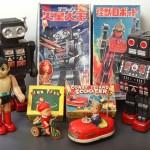 東京都府中市で懐かしいブリキのおもちゃをお譲り頂きました