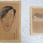 千葉県富里市にて、洋画家・和田英作のクロッキーをお譲り頂きました