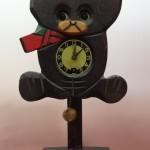 東京有楽町で昭和レトロなクマの振り子時計をお譲り頂きました