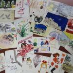 西東京市で、手書きのクリスマスカードをお譲り頂きました。―その4―