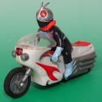 東京都西東京市にて、ポピー製の仮面ライダーソフビ&サイクロン号をお譲り頂きました