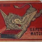 獅子づくし:東京都板橋区にて明治期のマッチラベル(燐票)のコレクションを大量にお譲り頂きました。その9