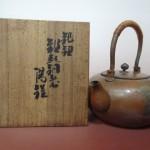 東京都港区元麻布にて、玉川堂の銅製湯鑵をお譲りいただきました。