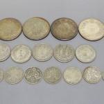 神奈川県川崎市にて、大正時代の一圓銀貨と小額紙幣をお譲りいただきました