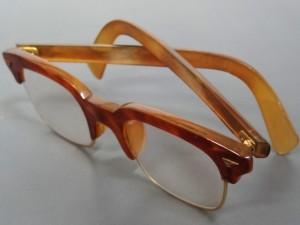 gold glasses kin bekko megane