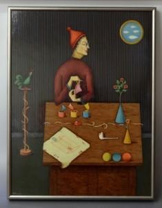 watanabe ichiro oil painting