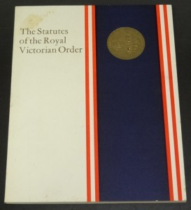 statutes of the Royal Victorian Order1