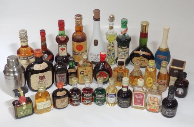 未開封のミニボトルの古酒