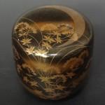 加賀蒔絵師 中村宗尹作  大棗「月に藤袴」をお譲りいただきました