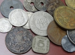old used coin