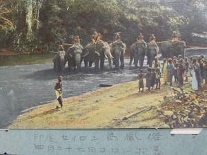 postcard meiji 8806