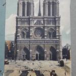東京都葛飾区にて、明治期のフランスのポストカードをお譲りいただきました。