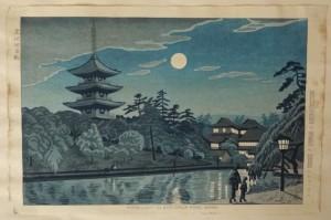 asano takeji woodblock print