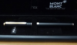 MONTBLANC WITH CASE