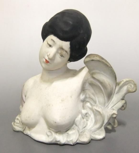 大正時代アールヌーボー調 美人博多人形