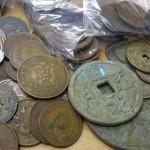 戦前の満州・朝鮮・台湾・香港などの古銭/硬貨をお譲りいただきました
