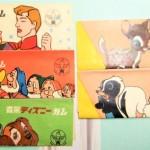 ◆森永ディズニーガムのガムさや◆昭和30年代