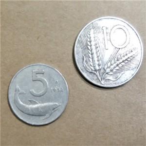 イタリア リラ コイン
