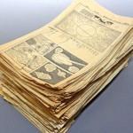 当時物!昭和期の産経新聞掲載「鉄腕アトム」全645話のうち600話あまりの切り抜きをお譲りいただきました。