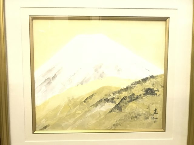 奥村土牛日本画