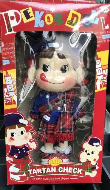 ペコちゃん人形