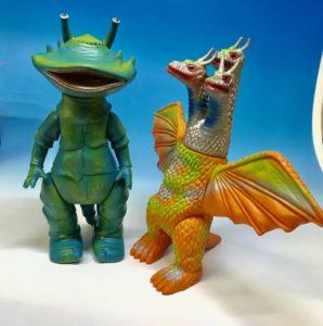 カネゴン キングギドラ 怪獣人形買取