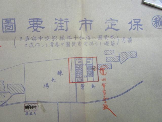 日中戦争期の地図